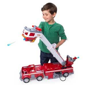 red PAW Patrol Ultimate Rescue Fire Truck from Walmart photo