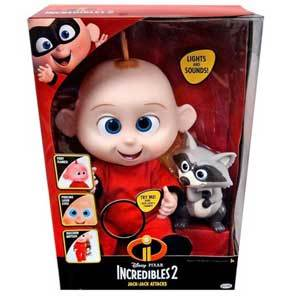 red Incredibles 2 Jack Jack Attacks Action Doll from Walmart photo