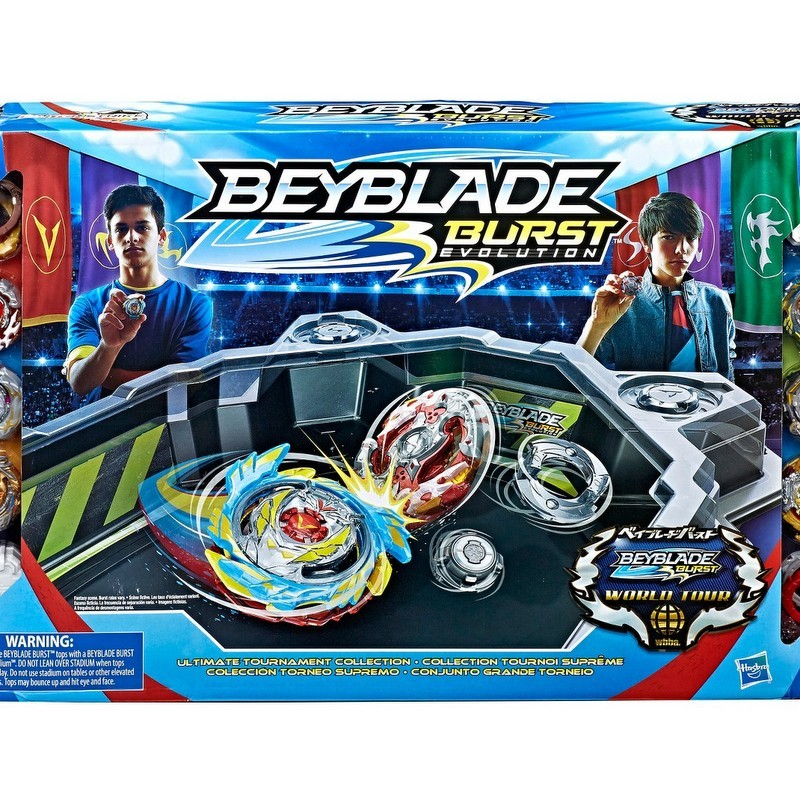 Beyblade Burst Evolution Ultimate Tournament Collection Tops and Beystadium from Target photo