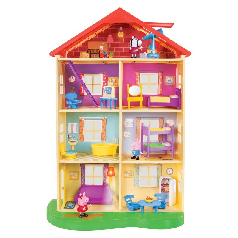 colorful Peppa Pig Home Playset from Target photo
