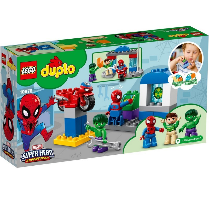 colorful LEGO Super Heroes Spider-Man & Hulk Adventures from Target photo