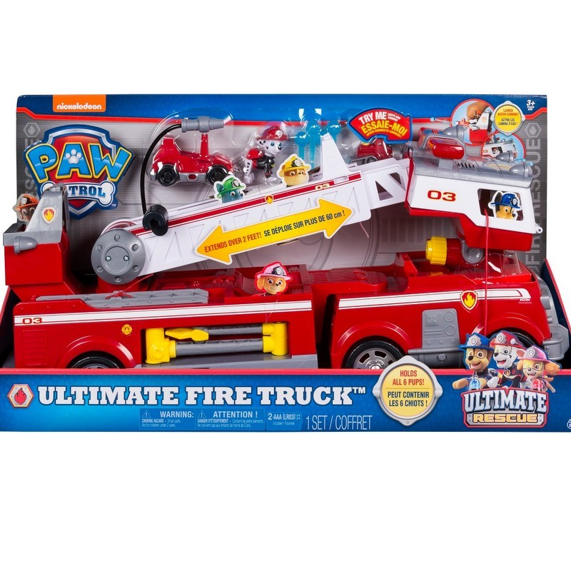 <em>red PAW Patrol </em>Ultimate Fire Truck from Target photo