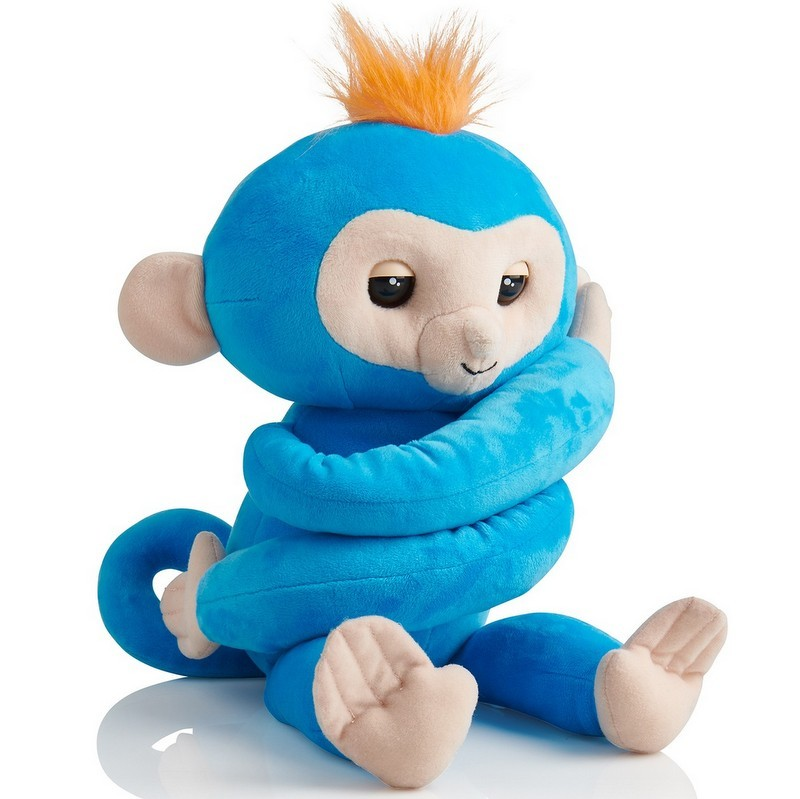 blue Boris the Friendly Interactive Plush Monkey from Target photo