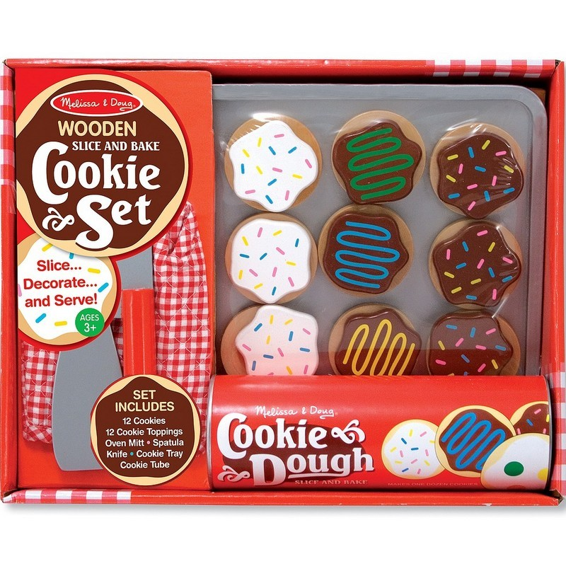 colorful Melissa and Doug Slice and Bake Cookie Set from Target photo