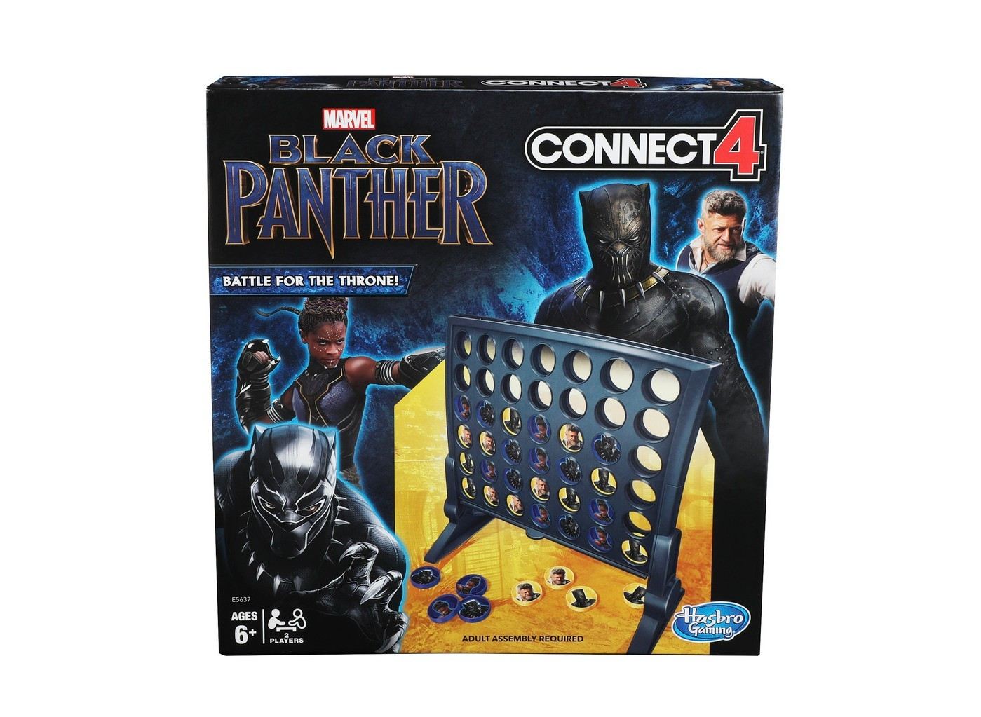 Connect 4 Game: Black Panther Edition from Target photo