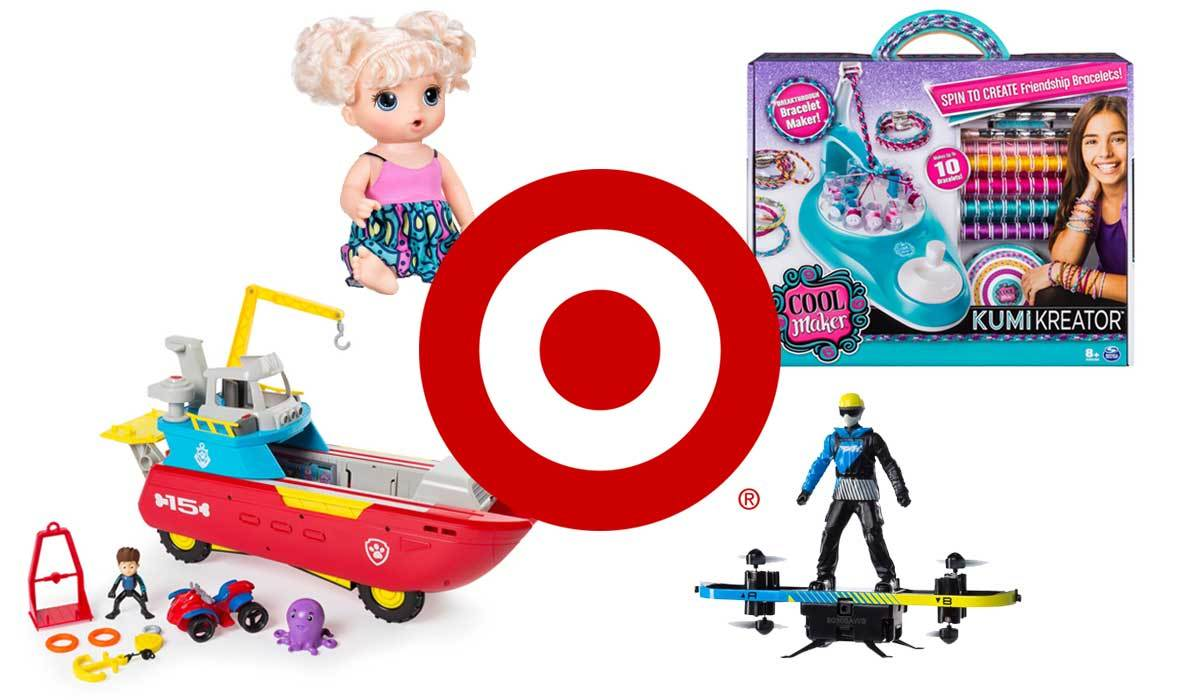 Top 15 Toys on Our Target Christmas List 2018