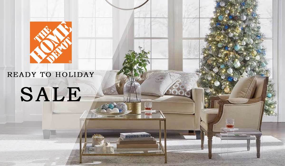 Get Your Home Holiday-Ready with The Home Depot's Ready to Holiday Sale