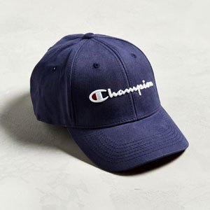Twill Embroidered Baseball Hat with Champion logo embroidered on the front. photo