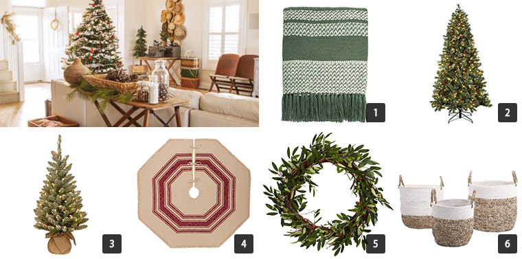 Collage of six images of Houzz Cyber Monday Sale on Home Decor photo