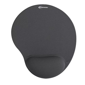 Black mouse pad with gel wrist support from Target photo