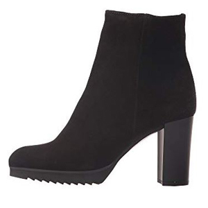 Black Myranda ankle boots. photo