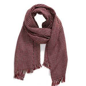Leith Waffle Grid Oblong Scarf Nordstrom Sale Best Black Friday Travel Deals photo