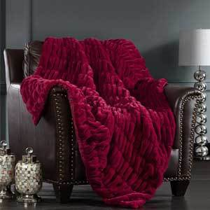 Chic Home Miera 50-by-60-Inch Throw Macy's Black Friday Sale photo