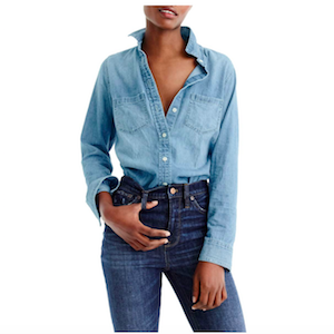 J.Crew chambray button down shirt Nordstrom Cyber Monday Sale photo