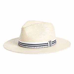 Rag & Bone straw hat with striped band Nordstrom Cyber Monday Sale photo