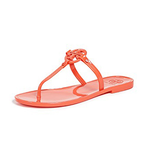 Tory Burch sandals in coral photo