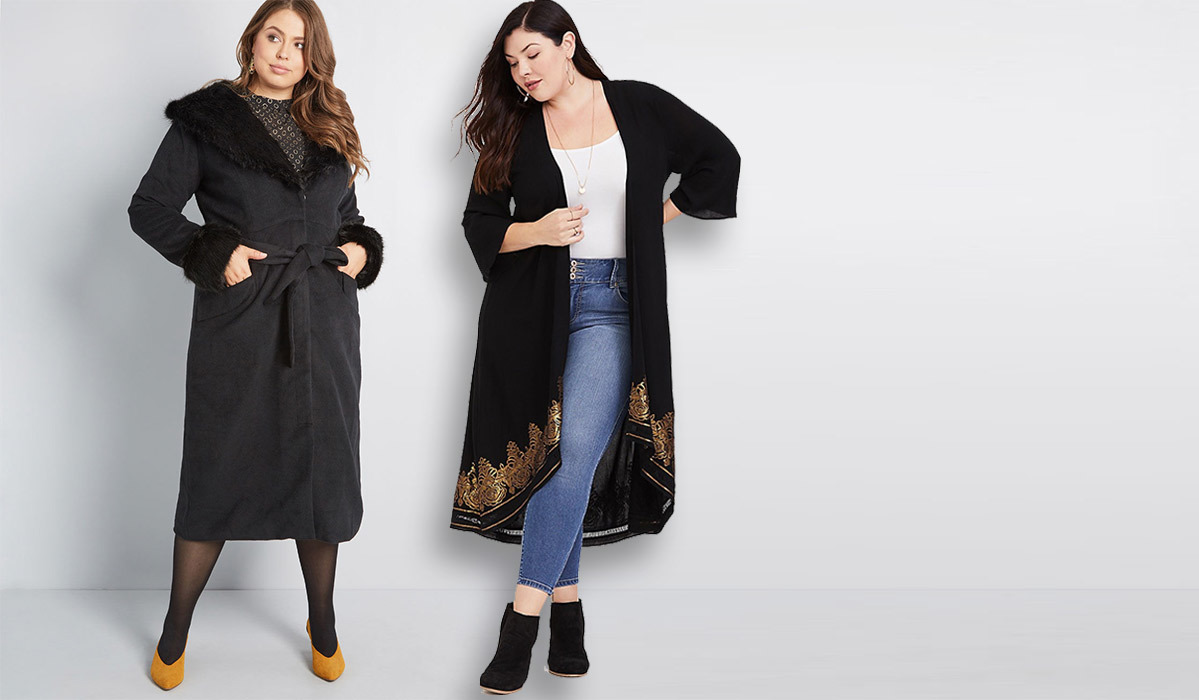 6 Plus-Size Jackets So Stylish We're Actually Excited for Cold Weather