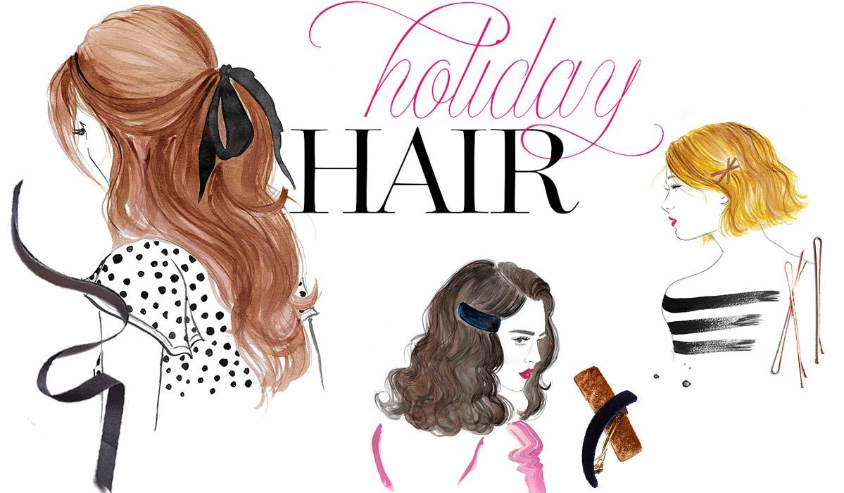 Different hairstyles for the holidays photo
