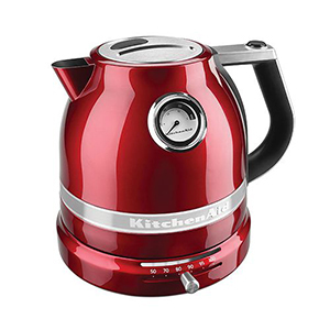 KitchenAid electric kettle in red photo