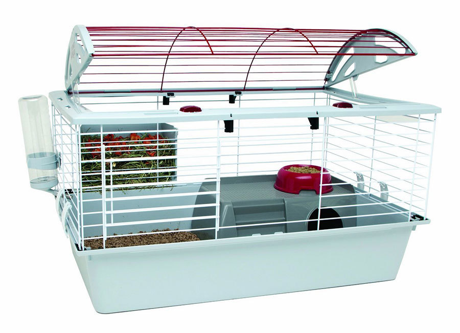 Metal guinea pig cage from Amazon photo