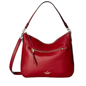 Red Leather Shoulder Bag from Kate Spade photo