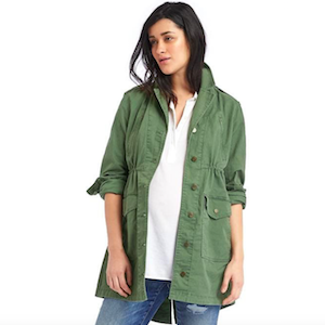 Green Maternity Utility Jacket from Gap photo