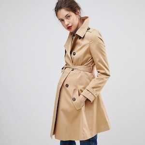 Maternity Trench Coat from ASOS Design photo
