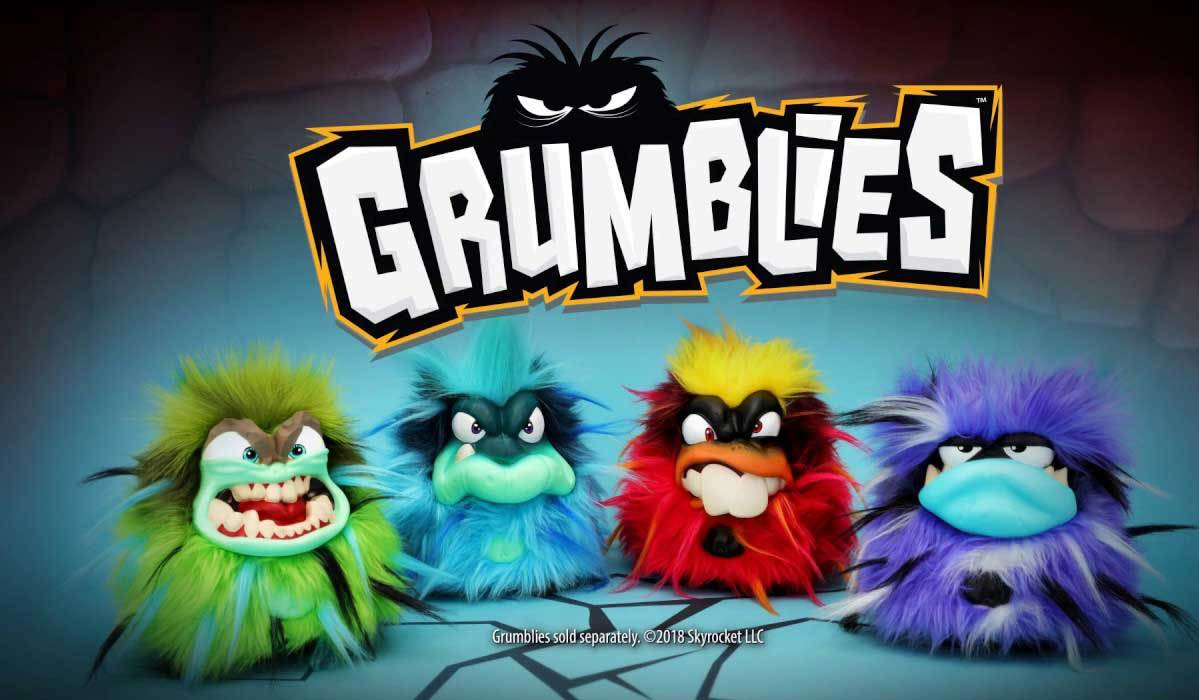 Kids are going mad for grumblies this christmas meet the 4 must have monsters