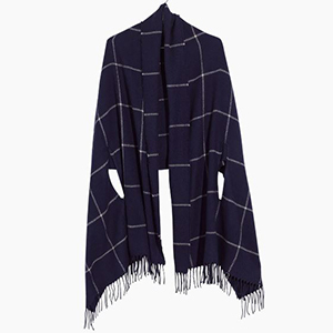 Cape scarf with arm holes photo