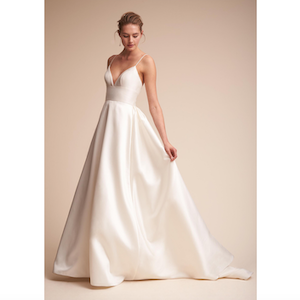 opaline ballgown by watters at BHLDN Black Friday photo