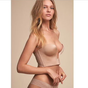 bridal shapewear plunge strapless bra from Fine Lines photo