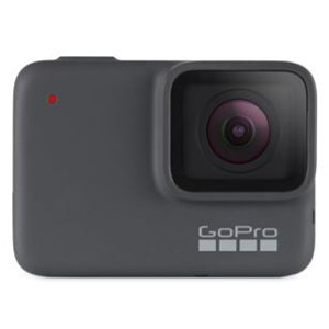 Black and silver GoPro Hero7 Silver 4K30 Action Camera from Walmart. photo