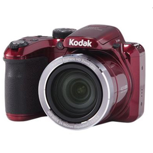 Deep red Kodak PIXPRO Bridge Digital Camera from Walmart. photo
