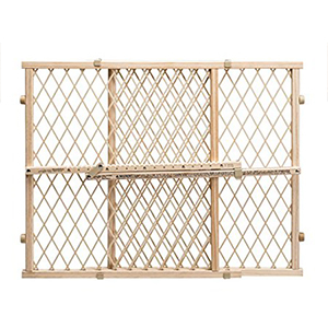 Classic beige baby gate photo
