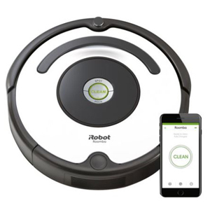 iRobot Roomba vacuum with Wi-Fi capabilities. photo