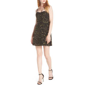 Sweetheart sequin cocktail dress from Nordstrom photo