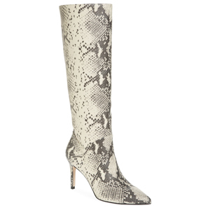 Steve Madden knee high boots in natural snakeskin print from Nordstrom photo