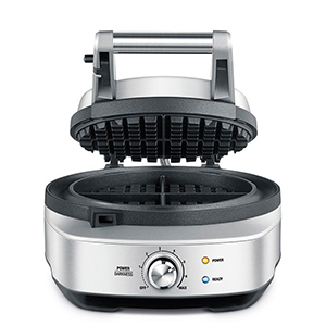 No mess stainless steel waffle maker from Abt photo