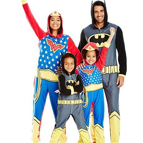 Justice League Family Sleepwear Cosplay PJs photo