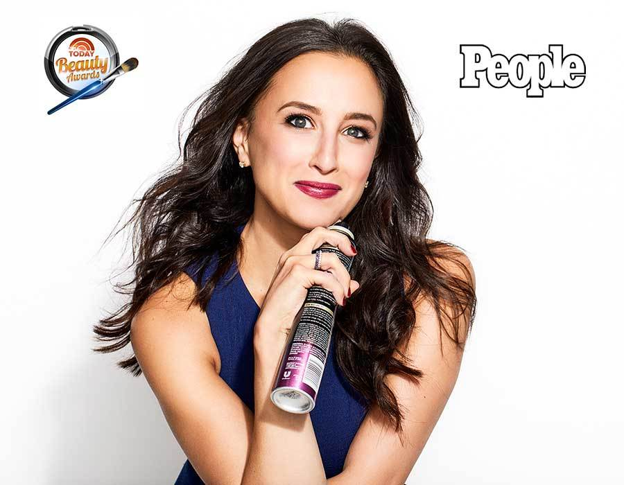 People Beauty Awards contributor holding the best hairspray: TRESemmé Compressed Micro Mist photo