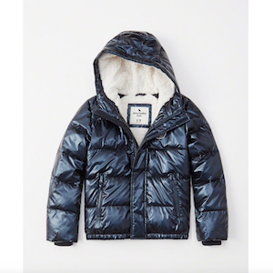 Abercrombie Kids The A&F Essential Puffer photo