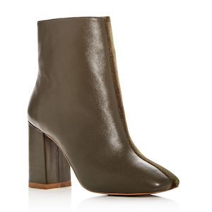 block heel booties by Jaggar at bloomingdales photo