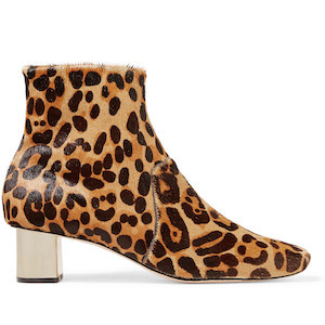 leopard-print ankle boots by nanushka Clarence photo