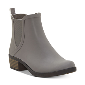 Lucky Brand rain booties in titanium color from Macy's photo