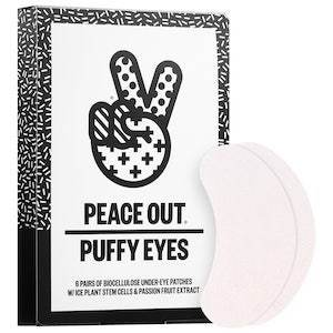 under-eye patches by Peace Out photo