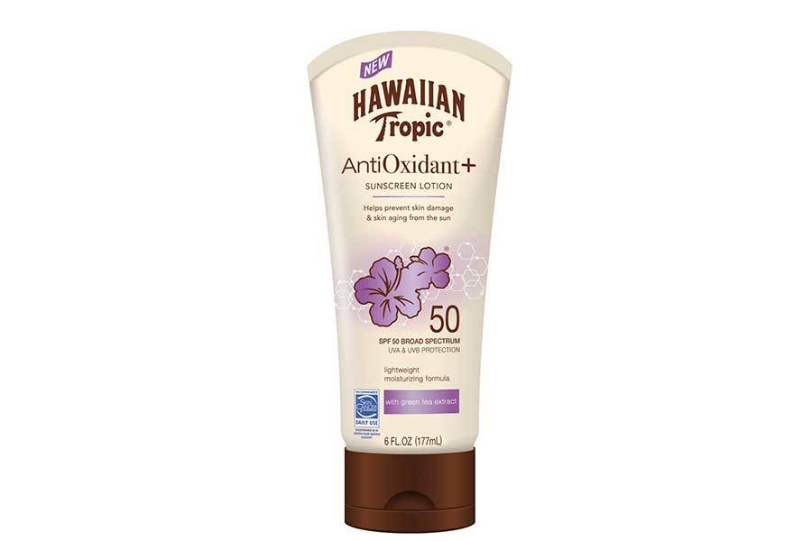 Hawaiian Tropic Antioxidant Sunscreen at Walmart photo