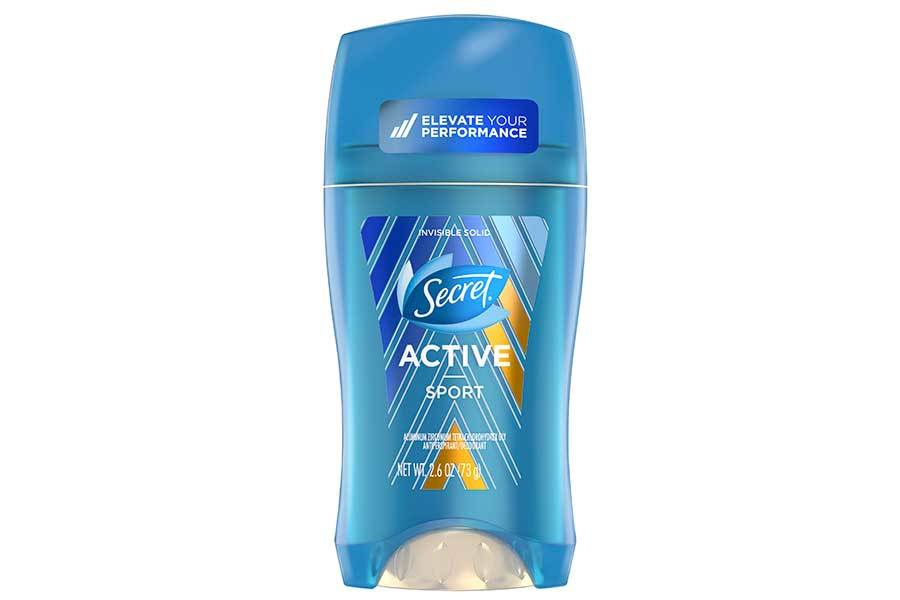 Secret Antiperspirant Deodorant in Sport citrus scent photo