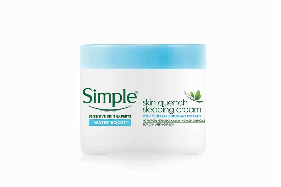Simple Skin-Quenching Sleeping Cream at Walmart photo