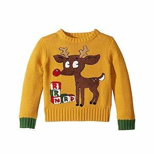 Whoopi Baby Reindeer Ugly Christmas Sweater for Babie photo