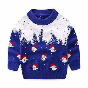 Snowman Ugly Christmas Sweater for Toddlers photo